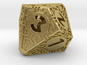 Daedalus D10 in Natural Brass