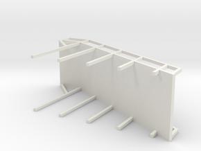 BLAST FURNACE PLATFORM in White Natural Versatile Plastic