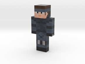 metal-gear-solid-solid-snake-main | Minecraft toy in Natural Full Color Sandstone