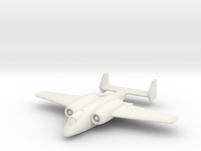 "(1:285) Junkers ""Unnamed"" Ground Attack Aircraft in White Natural Versatile Plastic"