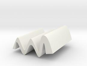 一反木棉手機架 in White Natural Versatile Plastic