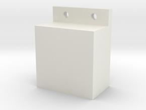 桌邊置物盒(Tableside compartment) in White Natural Versatile Plastic