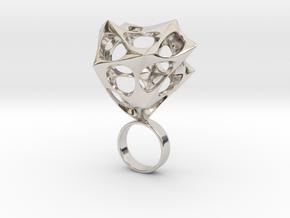 Caligro - Bjou Designs in Rhodium Plated Brass