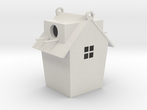 Birdhouse (downloadable) in Matte Full Color Sandstone