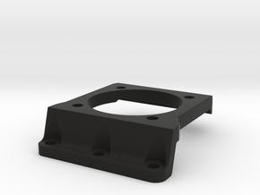 Xray XT2 Fan motor mount in Black Natural Versatile Plastic