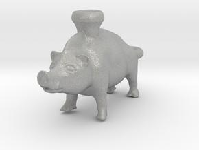 Keychain Boar Vessel, 600-500 BC, Etruscan in Aluminum