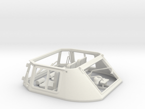 Leopard1_DT_turret_1_16_pt3of4 in White Natural Versatile Plastic