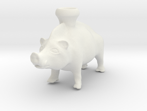 Full Size Boar Vessel, 600-500 BC, Etruscan in White Natural Versatile Plastic