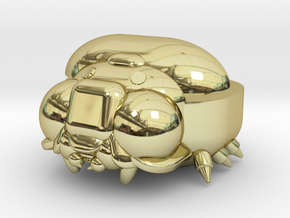 Bug Case in 18K Yellow Gold: Medium