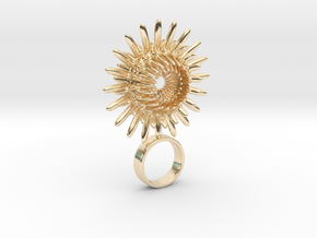 Laflorvertis - Bjou Designs in 14k Gold Plated Brass