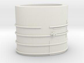 1/44 DKM Funnel part 1 in White Natural Versatile Plastic