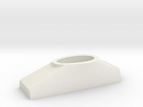 1/144 DKM Scharnhorst Funnel Part 4 Basement in White Natural Versatile Plastic