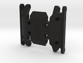 N2R High Clearance Skid for HPI Venture in Black Natural Versatile Plastic