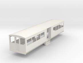 o-43-bermuda-railway-toast-rack-coach in White Natural Versatile Plastic