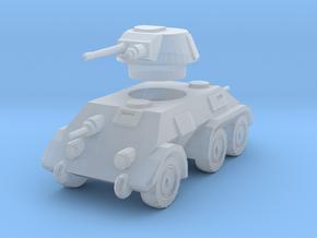1/100 Pantserwagen DAF M39 in Smooth Fine Detail Plastic