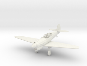 Curtiss P-40 Warhawk in White Natural Versatile Plastic