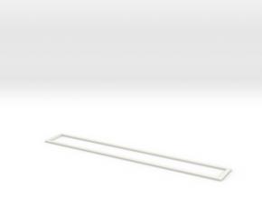 Top Line in White Natural Versatile Plastic