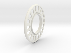 JRC-330 - Superlow 2.2 Beadlock Wheel Outer in White Natural Versatile Plastic