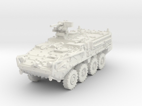 M1126 Stryker ICV scale 1/87 in White Natural Versatile Plastic