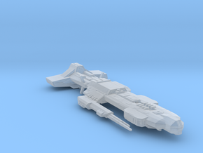Stargate Lantian battlecruiser in Smooth Fine Detail Plastic