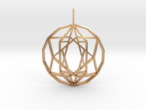 Star of Hope (Domed) in Natural Bronze