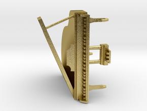 Mini Grand Piano in Natural Brass