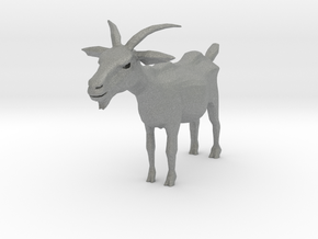 O Scale Goat in Gray Professional Plastic