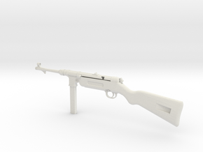 1/3rd scale MP41 in White Natural Versatile Plastic