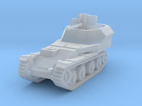 Flakpanzer 38 t scale 1/144 in Smooth Fine Detail Plastic