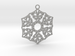 Ornamental pendant no.3 in Aluminum