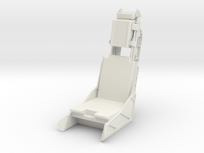 Ejection Seat - Stencel 1l10th Scale in White Natural Versatile Plastic: 1:10