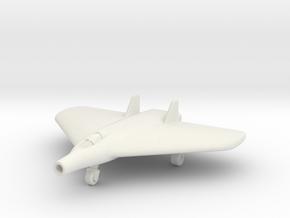 (1:200) Lippisch Delta VI with Lorin Ramjet in White Natural Versatile Plastic