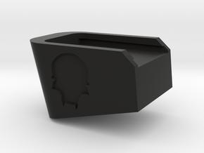 EF glock extended baseplate in Black Natural Versatile Plastic