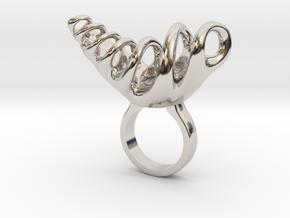 Bradjo - Bjou Designs in Rhodium Plated Brass