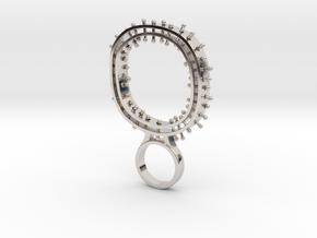 Pintlo - Bjou Designs in Rhodium Plated Brass