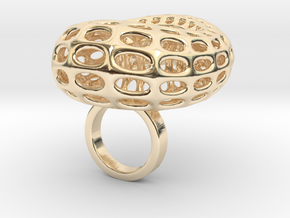 Grotesta- Bjou Designs in 14k Gold Plated Brass