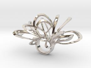 Magonlino- Bjou Designs in Rhodium Plated Brass