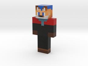 Kailin 2 refit b starfleet | Minecraft toy in Natural Full Color Sandstone