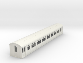 o-87-lnwr-siemens-ac-trailer-coach-1 in White Natural Versatile Plastic