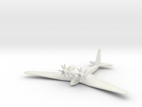 (1:350) Schnellbomber II in White Natural Versatile Plastic