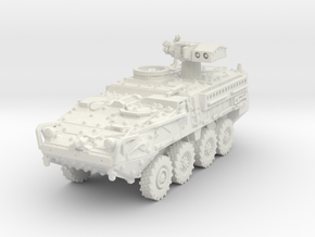 M1134 Stryker ATGM scale 1/87 in White Natural Versatile Plastic