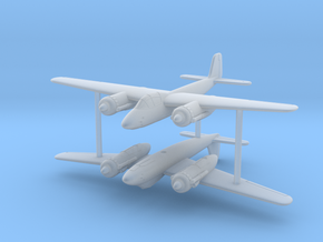 1/285 (6mm) Focke-Wulf Ta-254 (x2) in Smooth Fine Detail Plastic