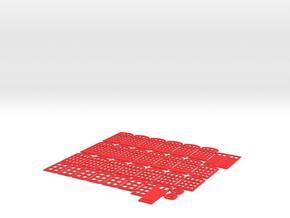 C-TTgBsc04-Busseau-sur-Creuse-Doorframes in Red Processed Versatile Plastic