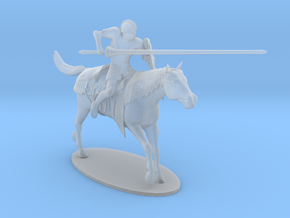 Knight Jousting in Smoothest Fine Detail Plastic: 1:64 - S