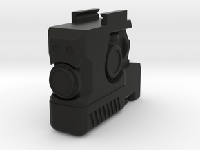 MK 23 LAM for Picatinny Rail (Mock Version) in Black Natural Versatile Plastic