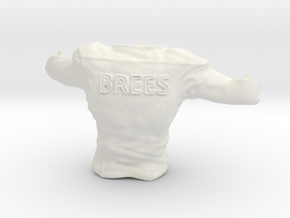 Drew Brees_Torso in White Natural Versatile Plastic