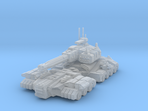 Armageddon Ultimate Tank - near future in Smooth Fine Detail Plastic