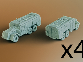 AEC Armoured Command Vehicle 6x6 Scale: 1:285 (x4) in Smooth Fine Detail Plastic