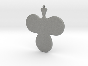 Necklace-36 in Gray Professional Plastic