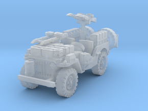 SAS Jeep scale 1/100 in Smooth Fine Detail Plastic